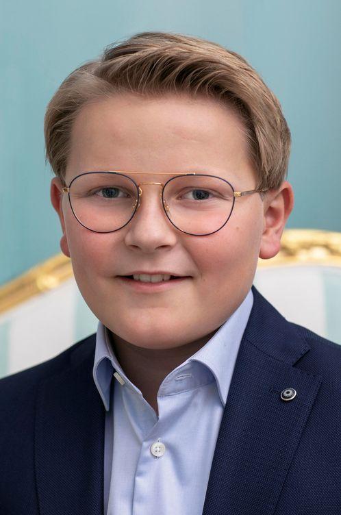 Foto: El príncipe Sverre Magnus. (Reuters)