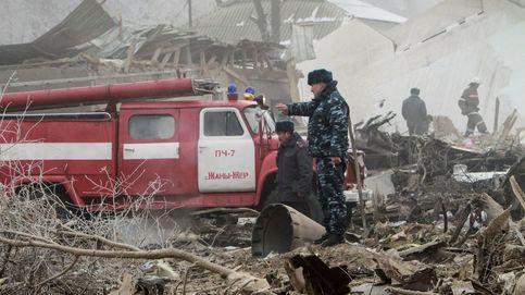 Al menos 37 muertos tras estrellarse un avión en Kirguizistán