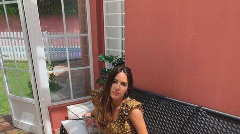 Rocío Osorno copia a Amelia Bono y luce el vestido drapeado más vendido de Zara