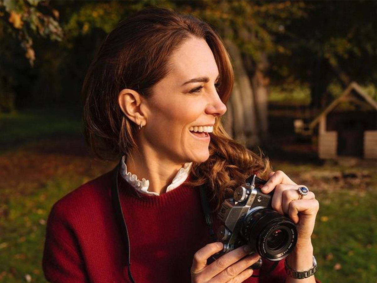 Foto: Kate Middleton, ejerciendo de fotógrafa. (Instagram @dukeandduchessofcambridge)