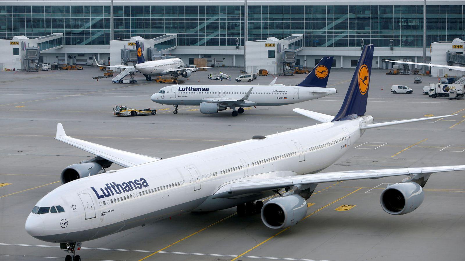 Foto: Aterrizaje de Lufthansa en el aeropuerto de Múnich. (Reuters)