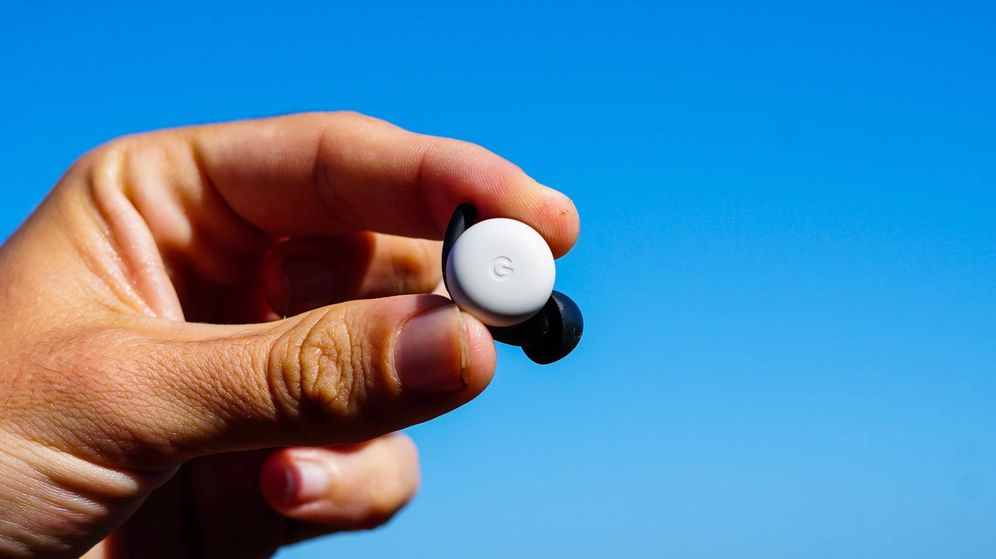 Foto: Vista de uno de los Pixel Buds. (Foto: M. Mc.)