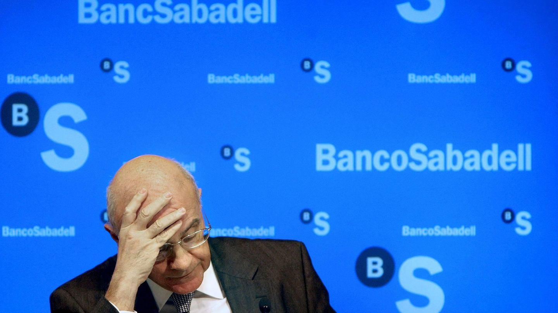 El presidente del Banco Sabadell, Josep Oliu. (EFE)