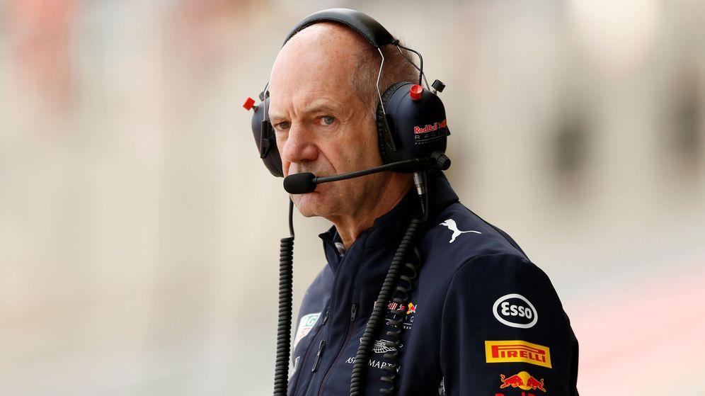 Foto: El ingeniero de Red Bull Adrian Newey. (Reuters)