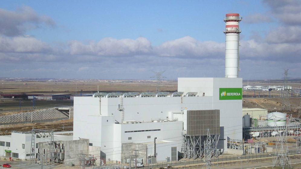Foto: Foto de recurso de una planta de cogeneración de Iberdrola.