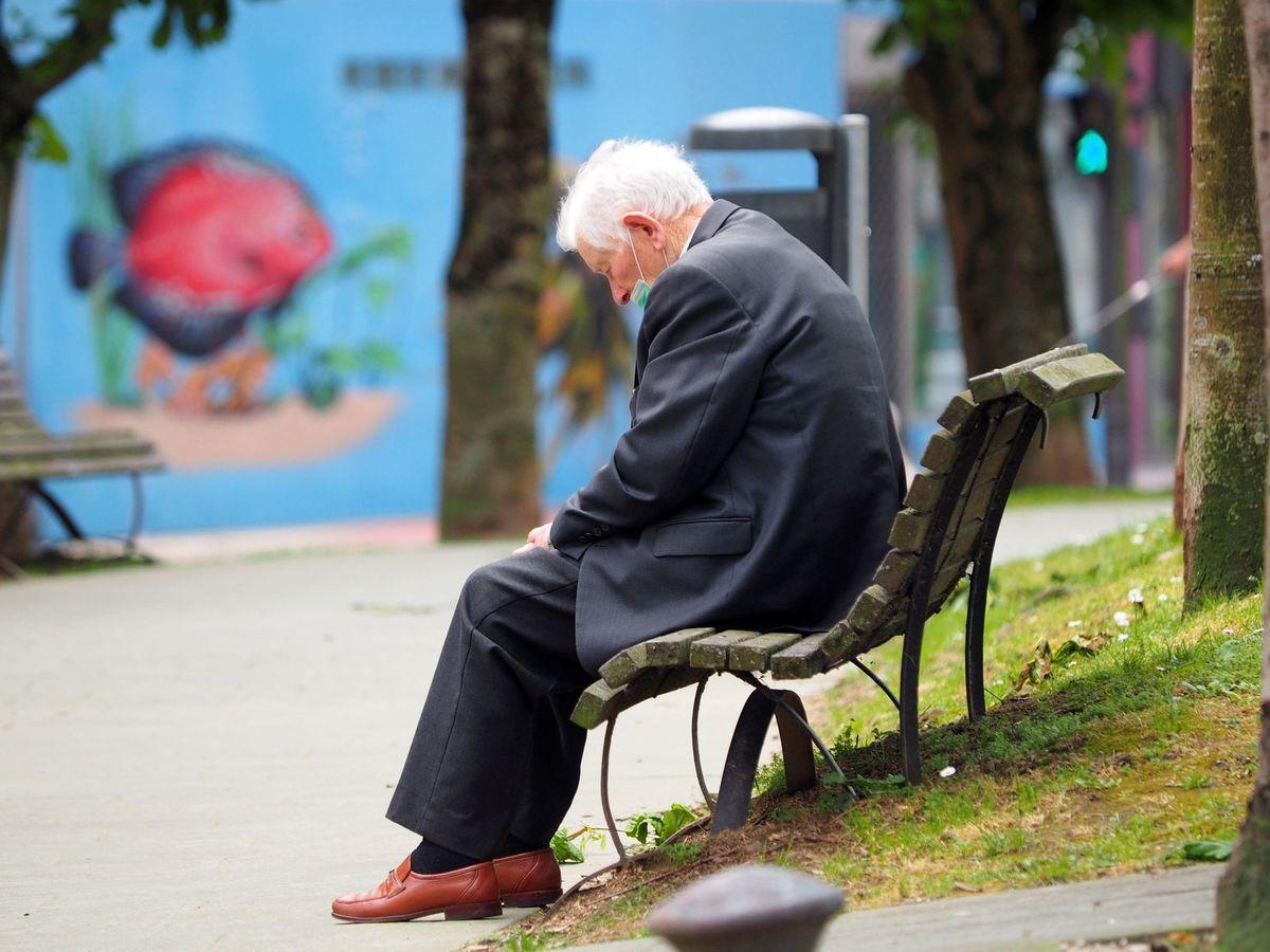 Foto: Un anciano, en una foto de archivo. (EFE)