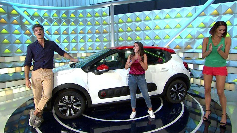 El coche, el gran premio de 'La ruleta'. (Atresmedia)
