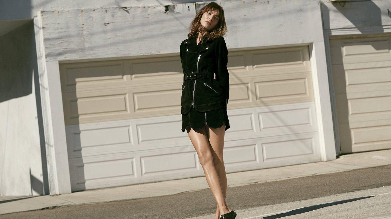 Alexa Chung como imagen de la firma de calzado Superga. (Imagen: Cortesía de la marca)