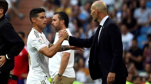 Zidane - James: borrón y cuenta nueva tras una conversación entre ambos
