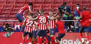 Post de El Atlético remonta en un final de infarto y depende de sí mismo para ganar LaLiga (2-1)