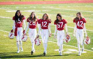 Los 'ángeles' de Victoria's Secret, listos para jugar la Super Bowl más sexy