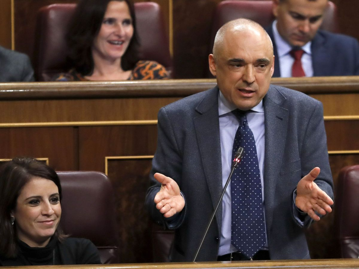 Foto: El diputado del PSOE, Rafael Simancas. (EFE)