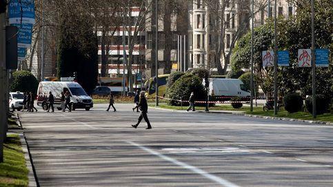 El tráfico en Madrid desciende un 13% en el primer día de aislamiento