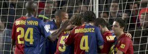 La UEFA hace un control antidopaje por sorpresa a once jugadores del Barça