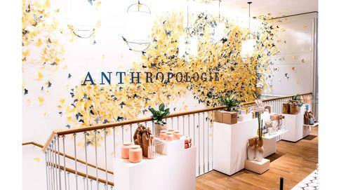 Anthropologie abre las puertas de su primera tienda en Barcelona