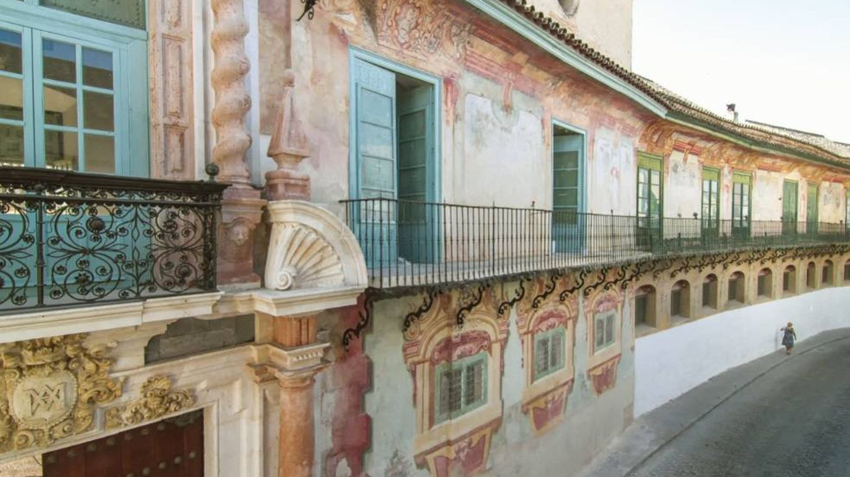 El Palacio de Peñaflor, ya restaurado. (Cortesía Lista Roja de Patrimonio)