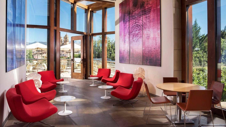 Un rincón del hotel de Gehry para después brindar. (Cortesía)
