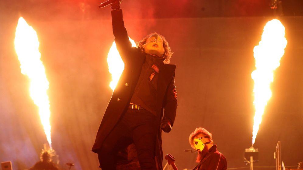Foto: Slipknot en el Download Festival de Madrid. (EFE)
