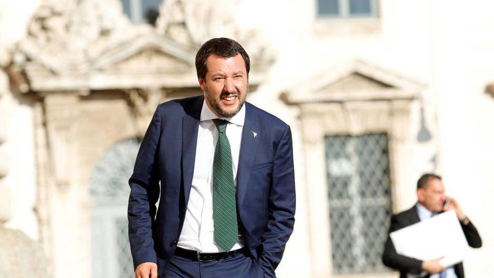Foto: El líder de la ultraderechista Liga, Matteo Salvini. (Reuters)