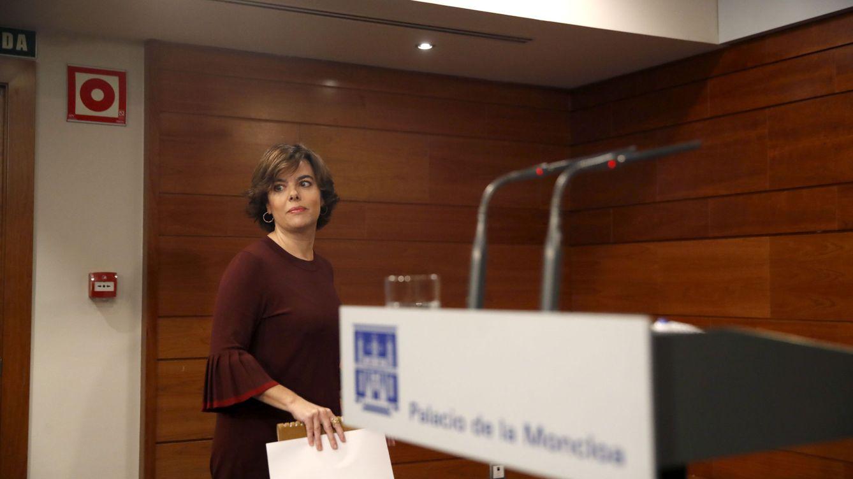 El Gobierno apela a la recesión económica para invitar a Puigdemont al diálogo