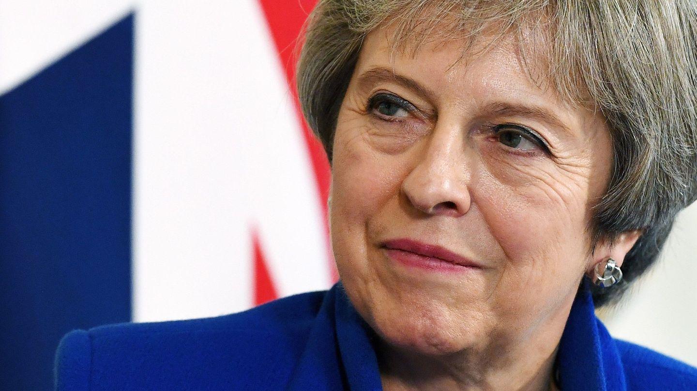 May ha ganado una importante batalla este miércoles, pero aún no la guerra.  (Reuters)