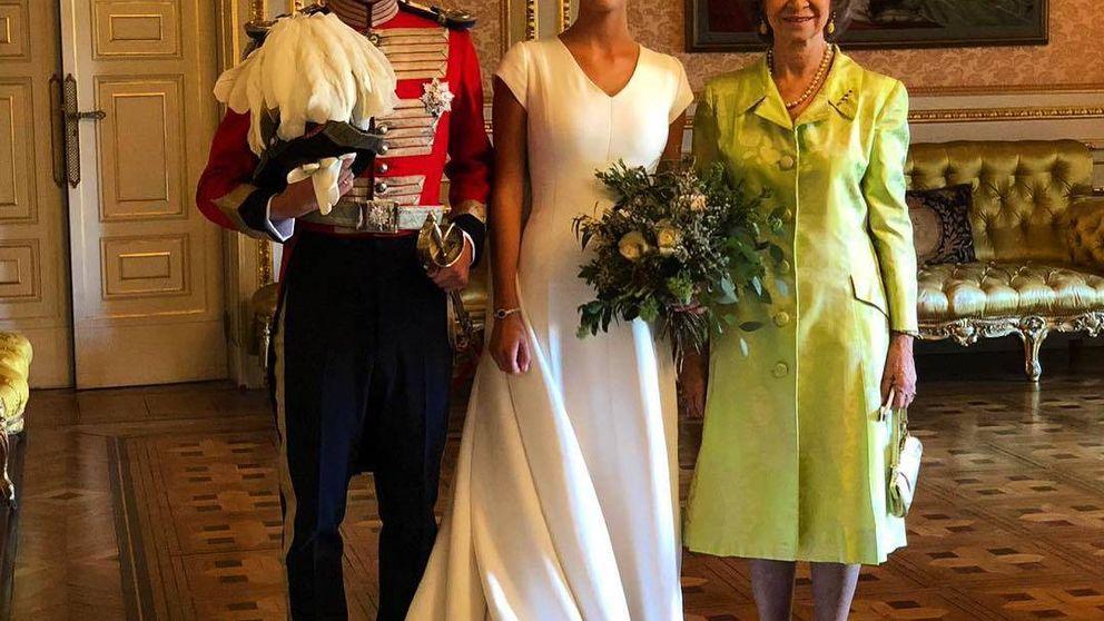 El corte (o zasca) de la reina Sofía a un invitado y la frialdad con Marichalar