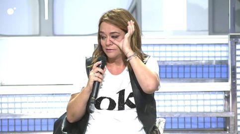 Toñi Moreno abandona rota 'MYHYV' tras creer que Teresa Campos ha muerto