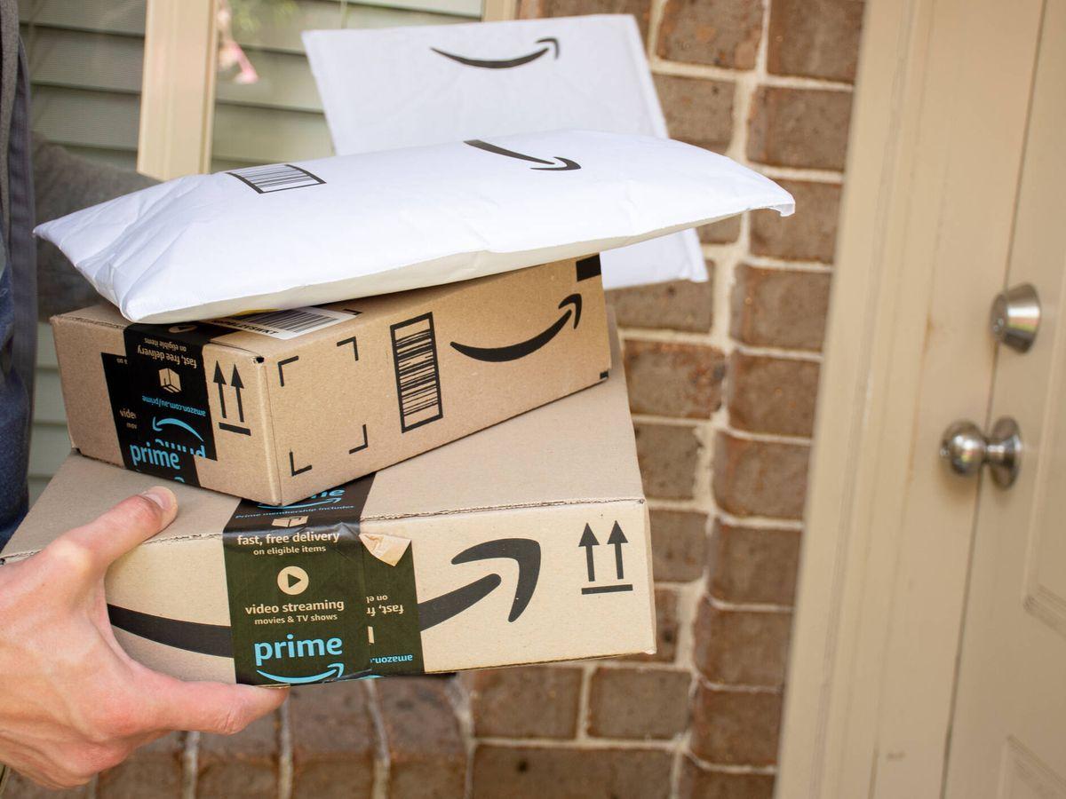 Foto: Entrega de varios paquetes de Amazon. (iStock)