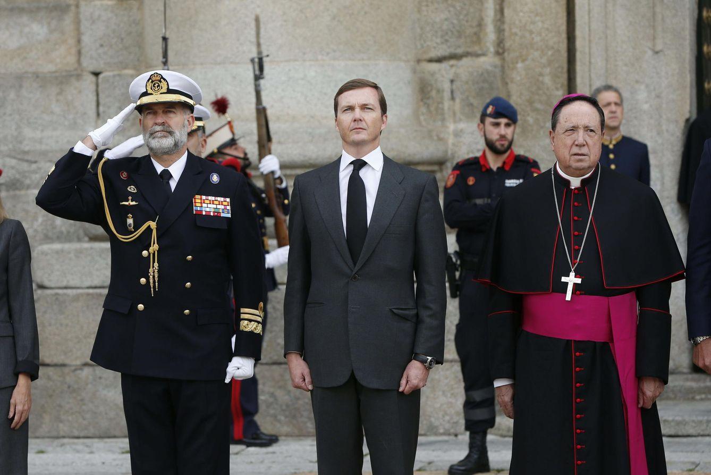 Foto: Pedro de Borbón, en el centro. (EFE)