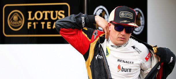 Foto: Kimi Raikkonen preparándose para disputar el GP de Alemania.