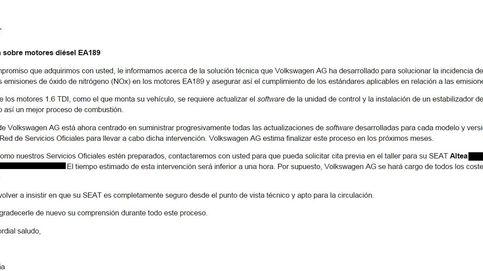Facua recomienda a los afectados por el caso Volkswagen no ir a revisión