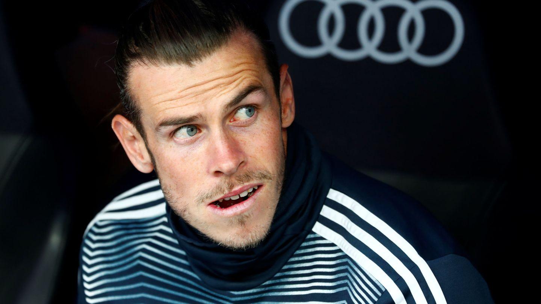 Gareth Bale, en el banquillo del Real Madrid. (EFE)