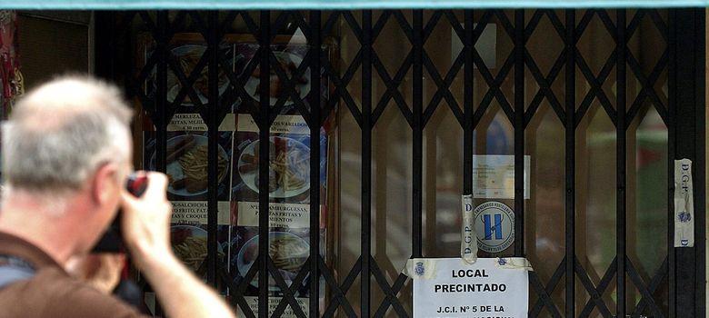 Foto: Fotografía de archivo de la entrada del bar Faisán. (EFE)