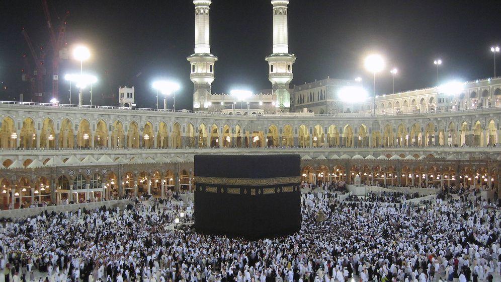 Foto: Mujeres musulmanas han denunciado sufrir acoso sexual en sus peregrinaciones a La Meca (EFE)