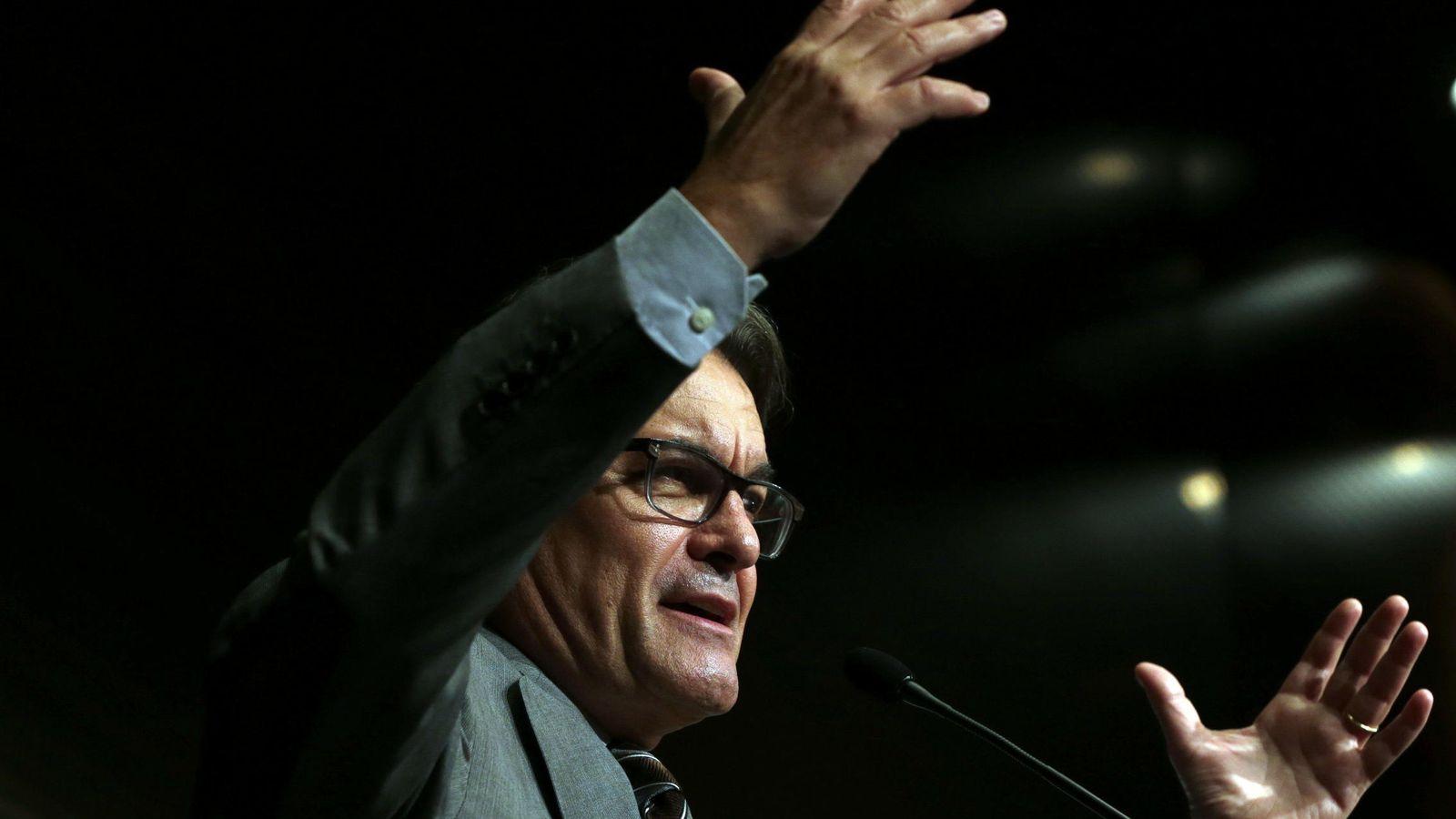 Foto: El presidente de la Generalitat y candidato nº 4 de la candidatura Junts pel Sí, Artur Mas. (EFE)