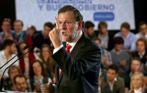 Empresarios catalanes arropan al presidente Mariano Rajoy