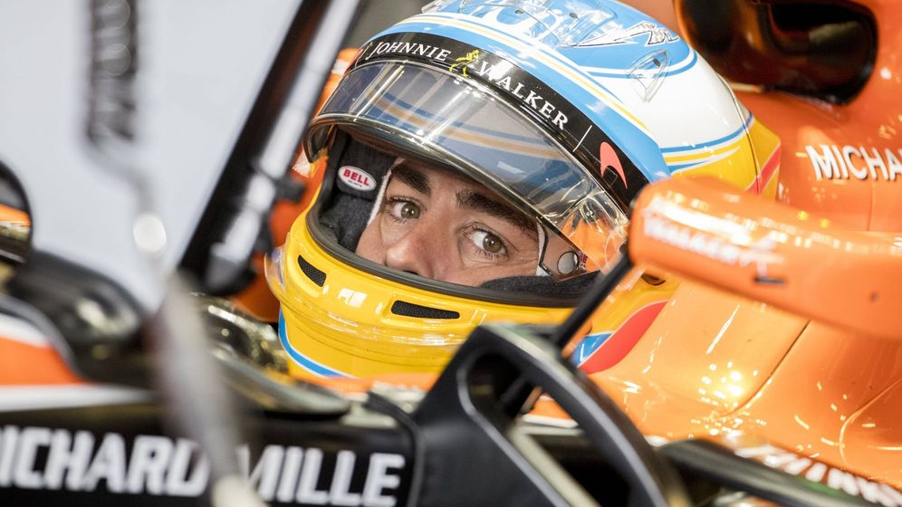 Foto: Fernando Alonso en el GP de Gran bretaña. (Reuters)