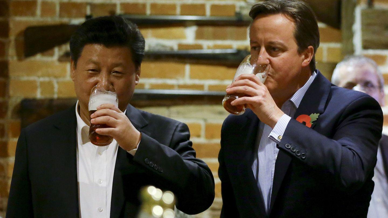 Xi Jinping y David Cameron, en una imagen de archivo. (EFE)