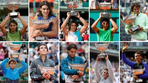 Rafa Nadal y Roland Garros, un romance de diez en París