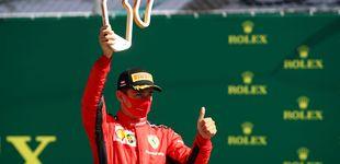 Post de El golpe en la mesa de Charles Leclerc para poner Ferrari donde no merece