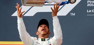 Post de GP de Francia de F1: Paseo de Hamilton, Sainz es 8º y Alonso abandona