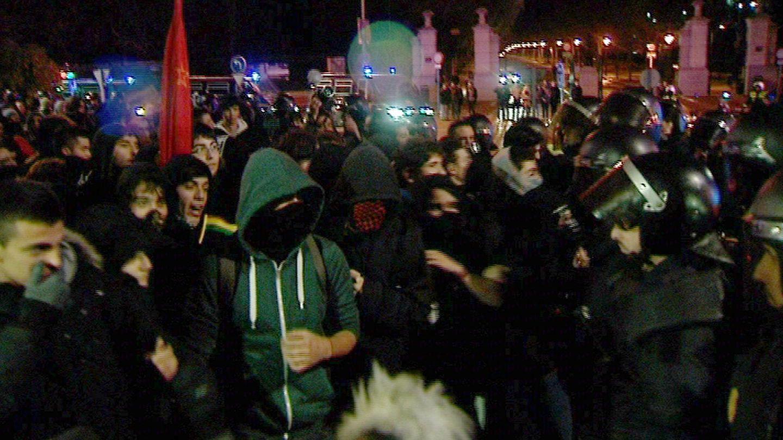 Última manifestación en Gamonal. (Efe)