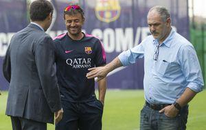 Zubi: A Luis Enrique no hay que explicarle la exigencia del Barça