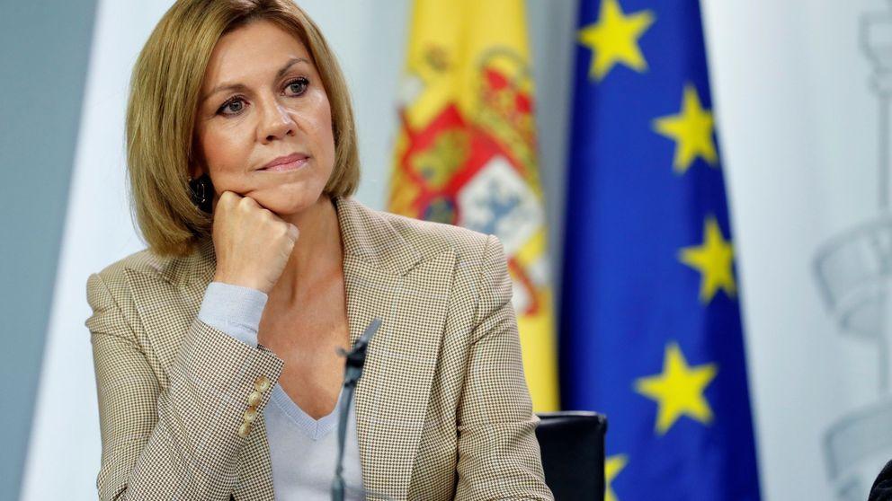 Rusia 'trolea' a Cospedal con una broma viral sobre Puigdemont