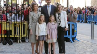 La princesa de Asturias y la infanta Sofía, dos 'royals' casi invisibles