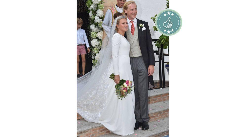 Las mejor y peor vestidas de la boda de Marie Gabrielle de Luxemburgo en Marbella