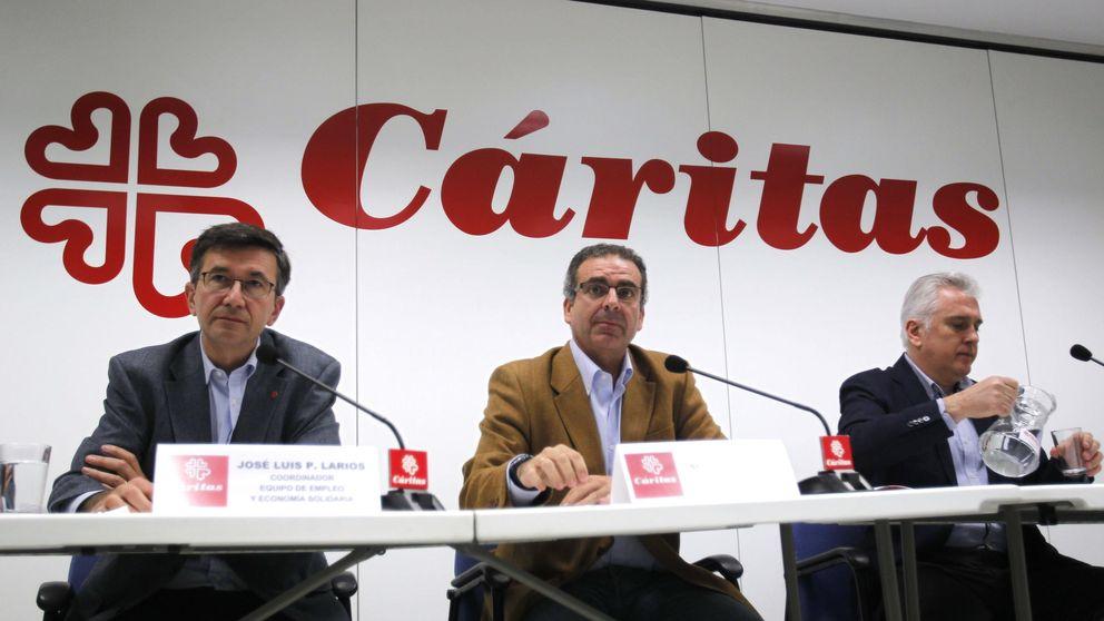 Los españoles que piden ayuda a Cáritas para encontrar empleo crecen un 56%