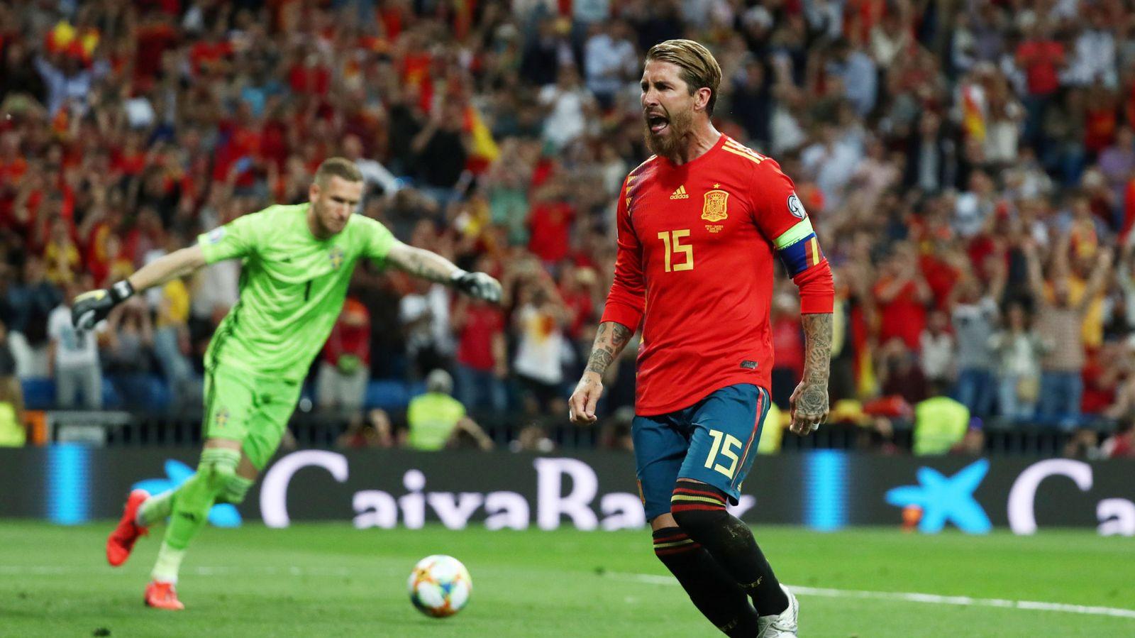 Foto: Euro 2020 qualifier - group f - spain v sweden