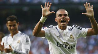 Sin Ramos y con un Casillas light, Pepe es el caudillo de un Florentino en horas bajas