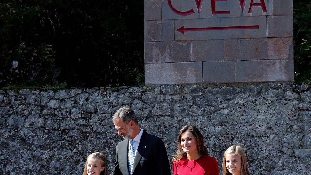 Letizia cede el protagonismo a su hija en un día histórico para la princesa